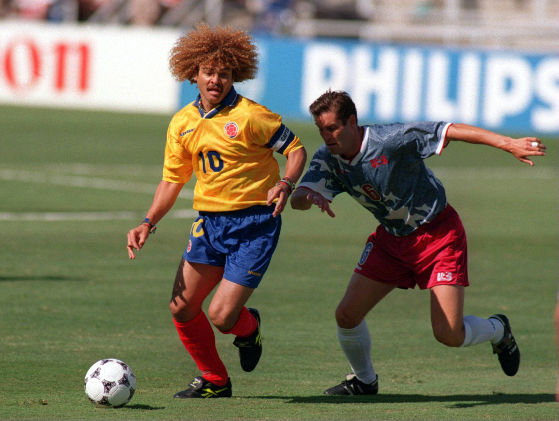 snapshot classic usa vs colombia 1994 world cup who