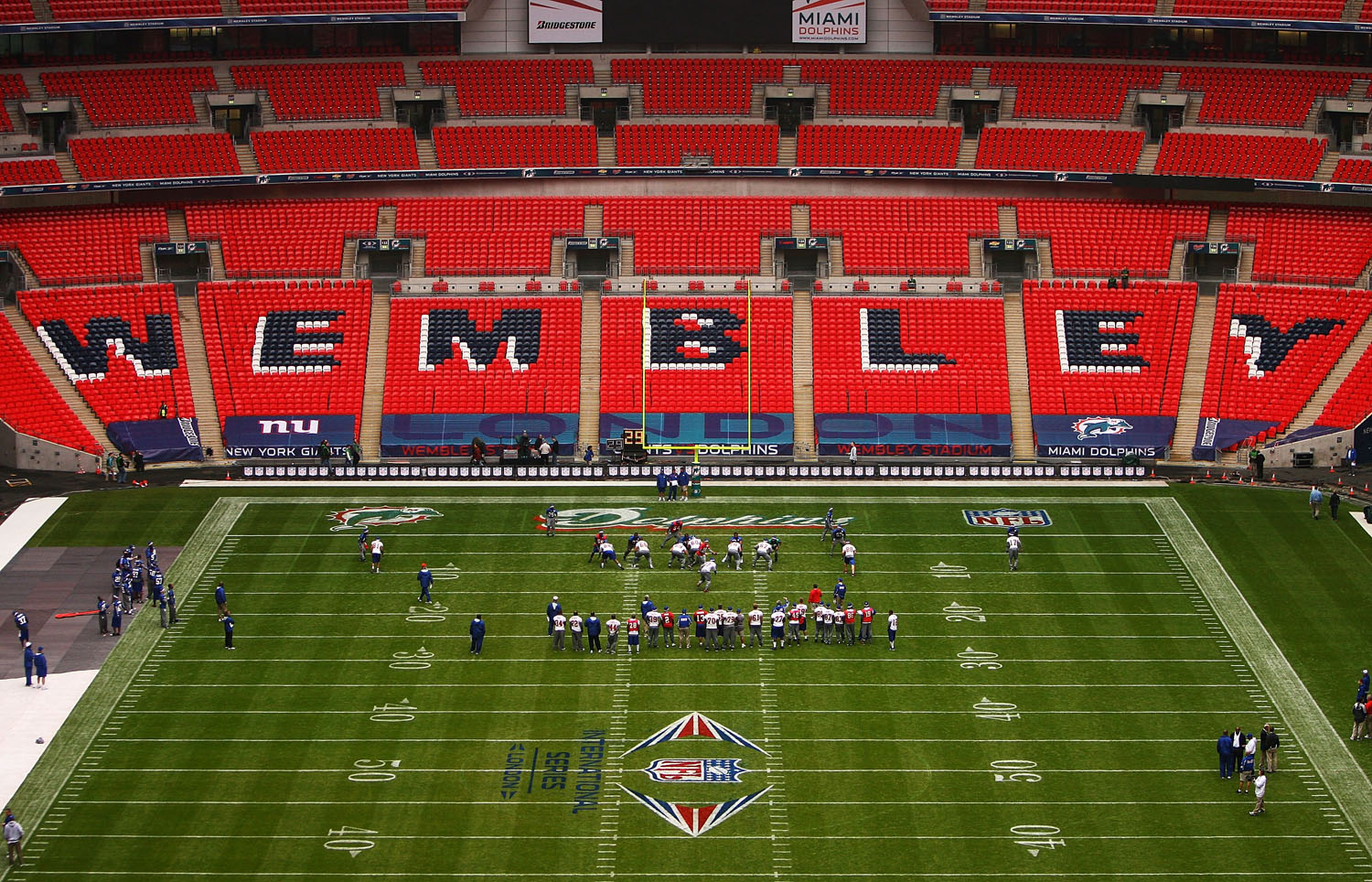 Image result for wembley nfl match