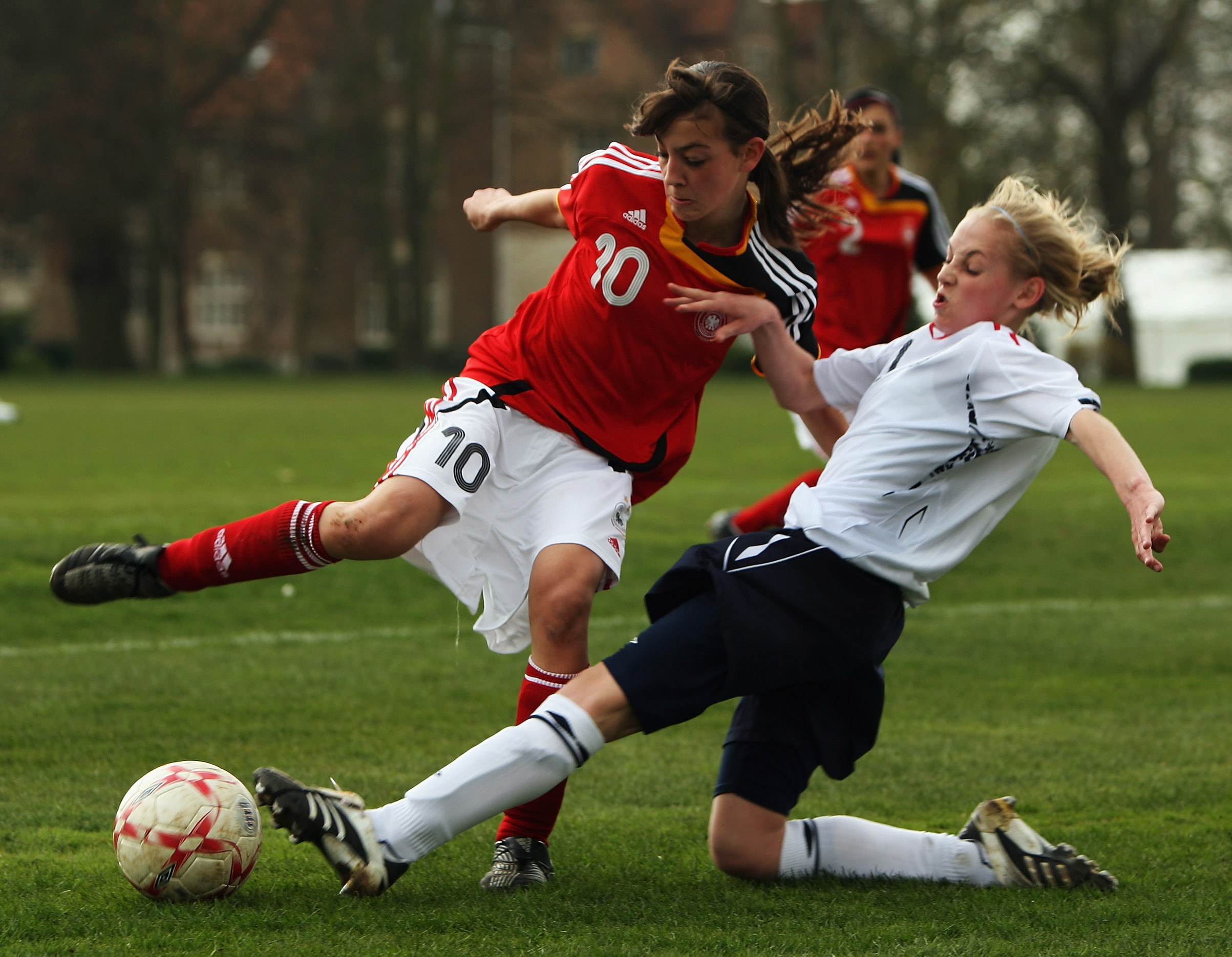 Snapshot – England U-15 girls vs Germany U-15 girls