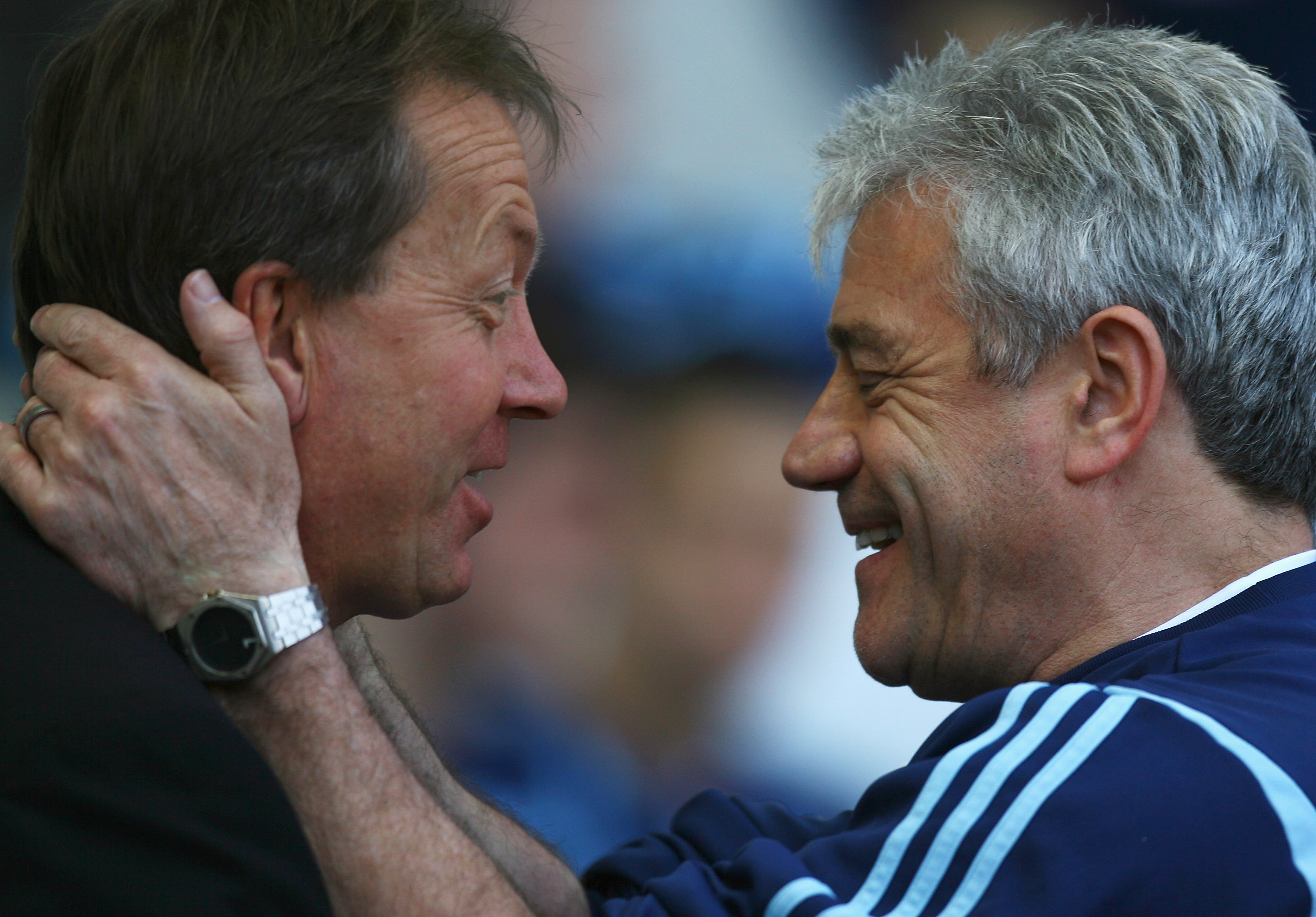 Keegan & Curbishley: Managers without voices or sympathy