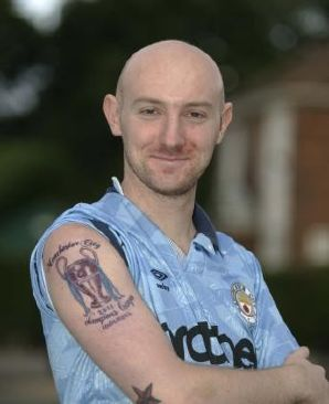pies classics man city fan 39 s tattoo predicts 2011 champions league win who ate all the pies. Black Bedroom Furniture Sets. Home Design Ideas