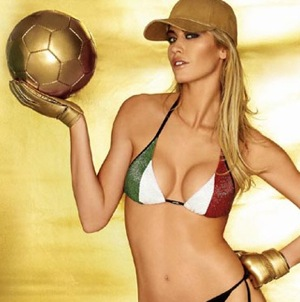 The Football WAG Index No.2: Elena Santarelli