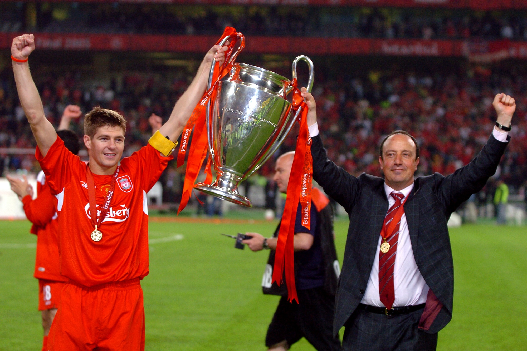 Steven Gerrard and the Five Stages of Grief  Steven Gerrard Champions League