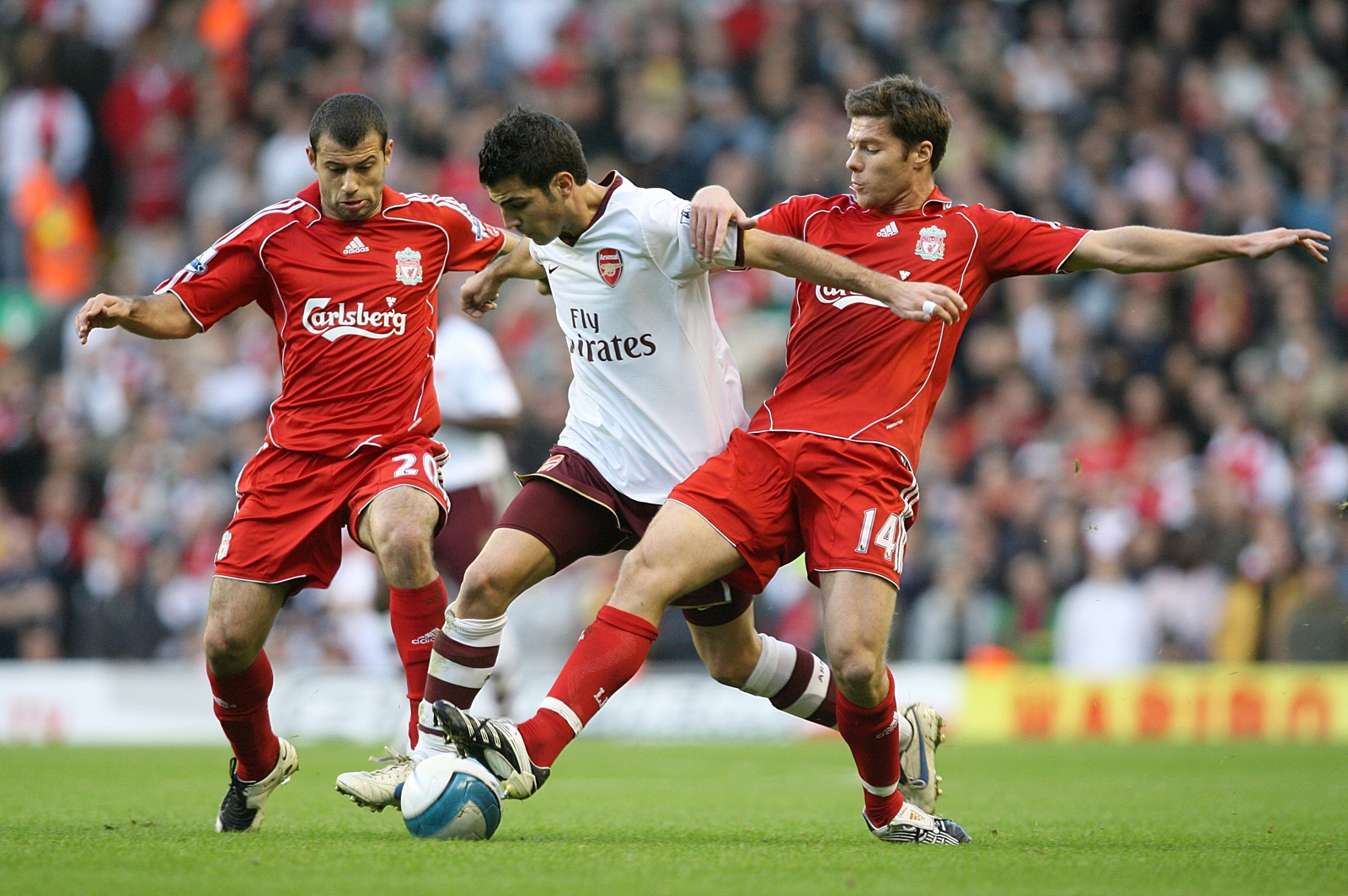 Javier Mascherano v Xabi Alonso who would Liverpool miss more
