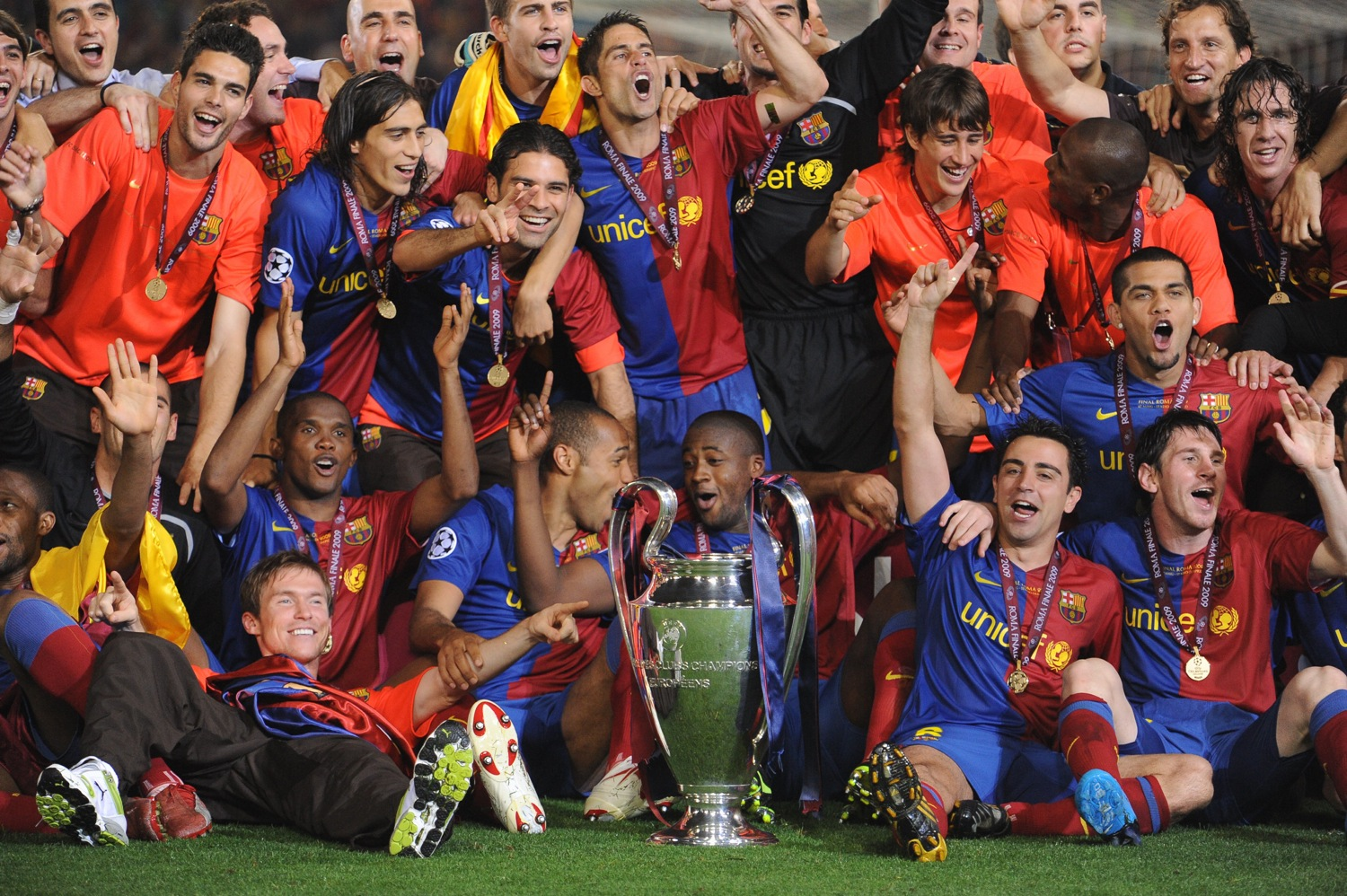 What Is Barcelona S Best Starting Xi For The 09 10 Season Who Ate All The Pies