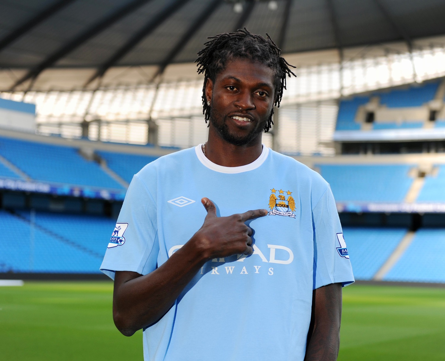 Adebayor joins Manchester City