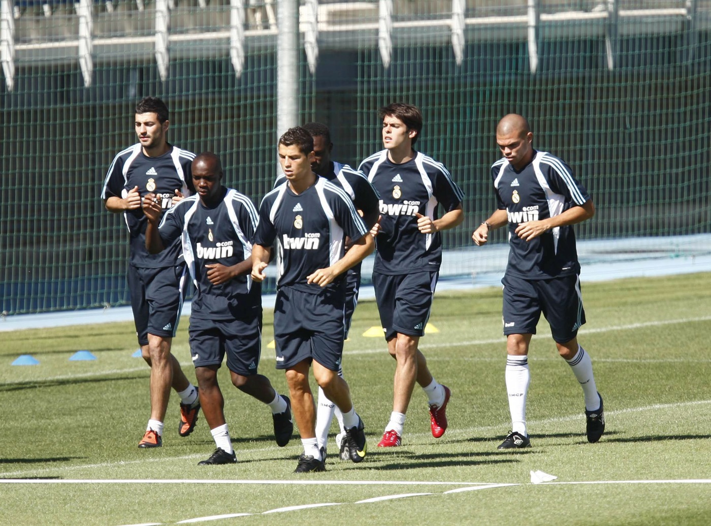 Image result for 09/10 real madrid squad