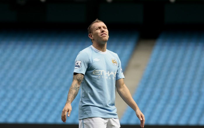 Craig Bellamy (Man City) For this. And this. Oh, and this. What a scrote.