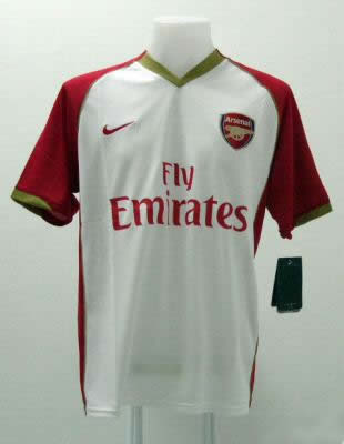 best service 4247a 5a967 Arsenal's white away kit, 2007/08 season, or how to look ...