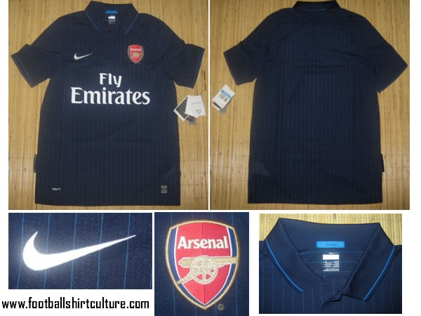 new arrival 2e4fa d2d18 Arsenal's new away kit is blue and awful | Who Ate all the Pies