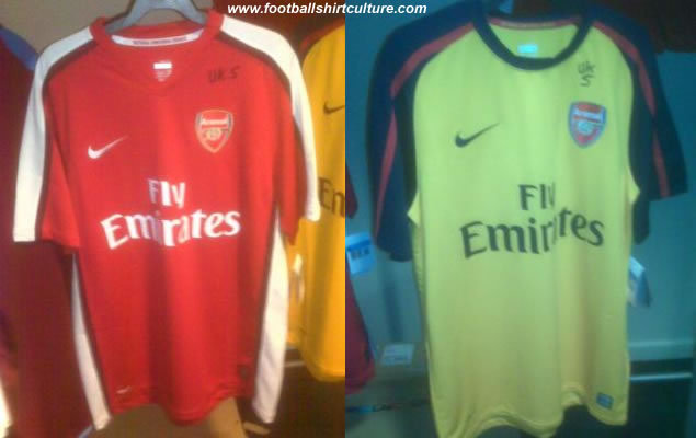 brand new 4430d 96284 Kit Parade: New Arsenal kits for 2008/09 season… Or another ...