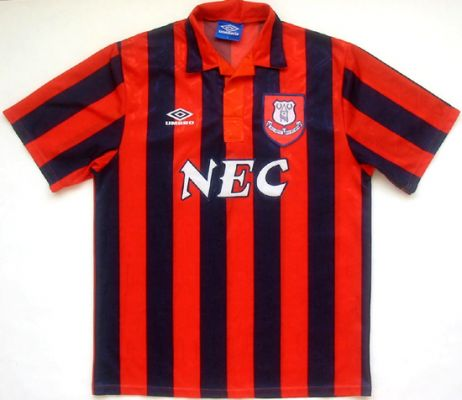 Shit Kits: Everton, 1995 | Who Ate all the Pies