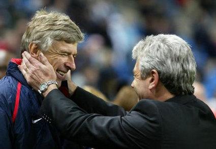 Roy Keane.  Arsene Wenger.