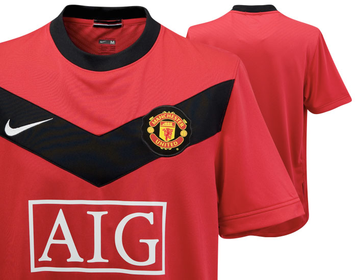 cheap for discount 43c11 00967 Manchester United's new home kit revealed in full. You like ...