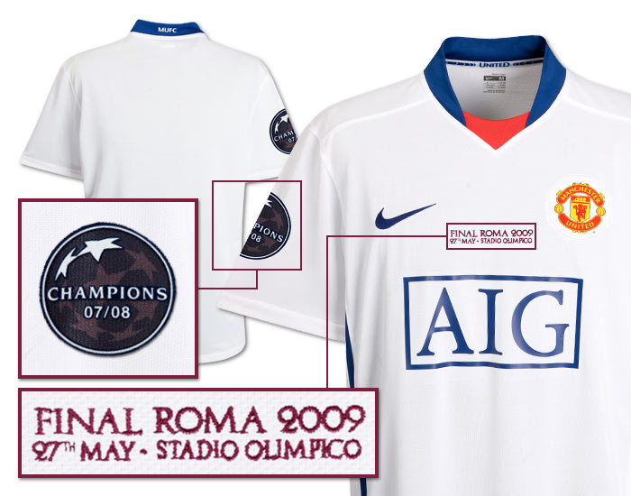 quality design e4877 8eda4 Man Utd v Barcelona: Champions League final kits | Who Ate ...
