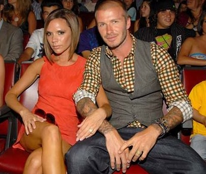 victoria beckham and david beckham. than Victoria Beckham,