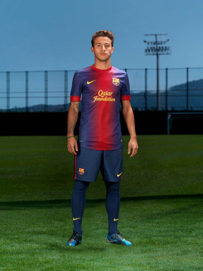 Barcelona thuisshirt 2012-2013
