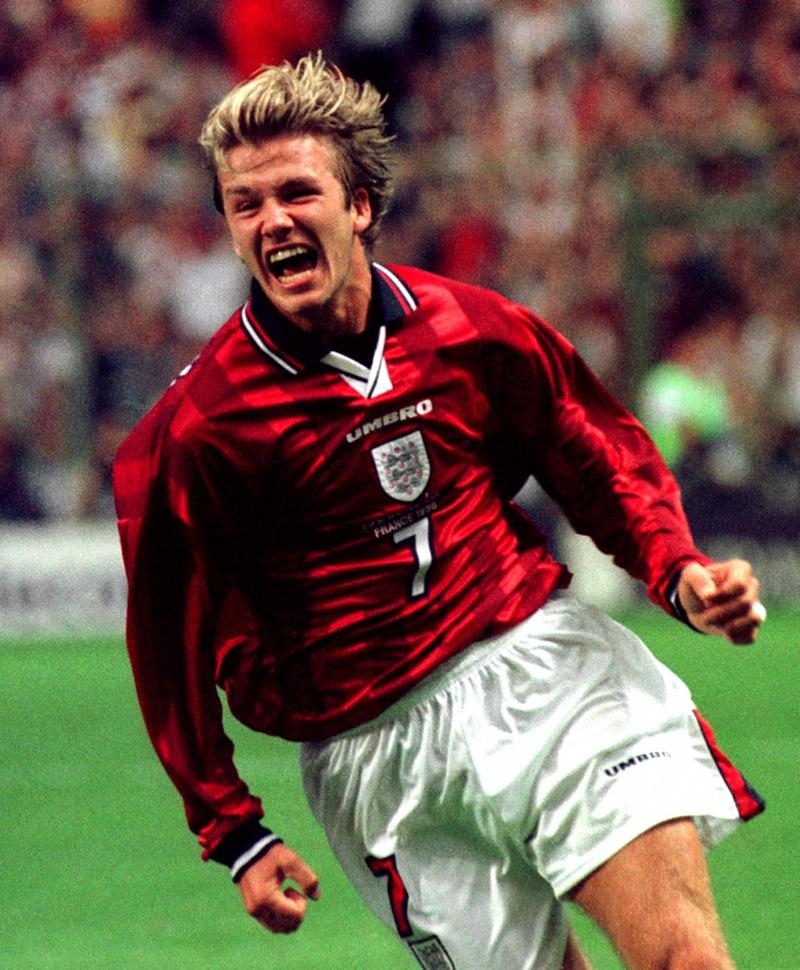 David Beckham Fußball