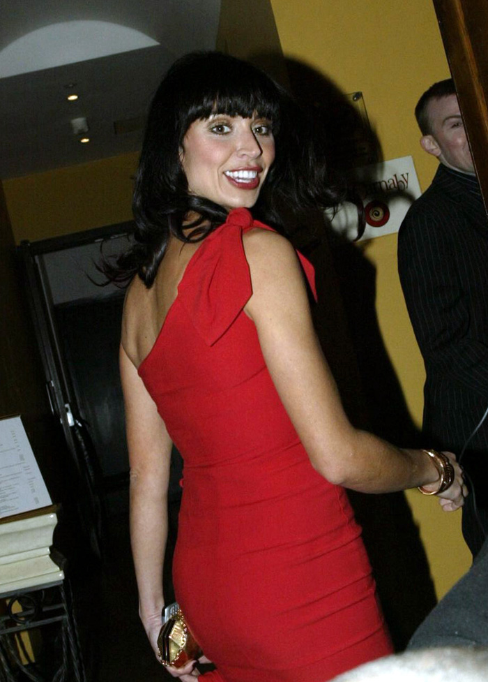 TV presenter Christine Bleakley, WAG of Frank Lampard