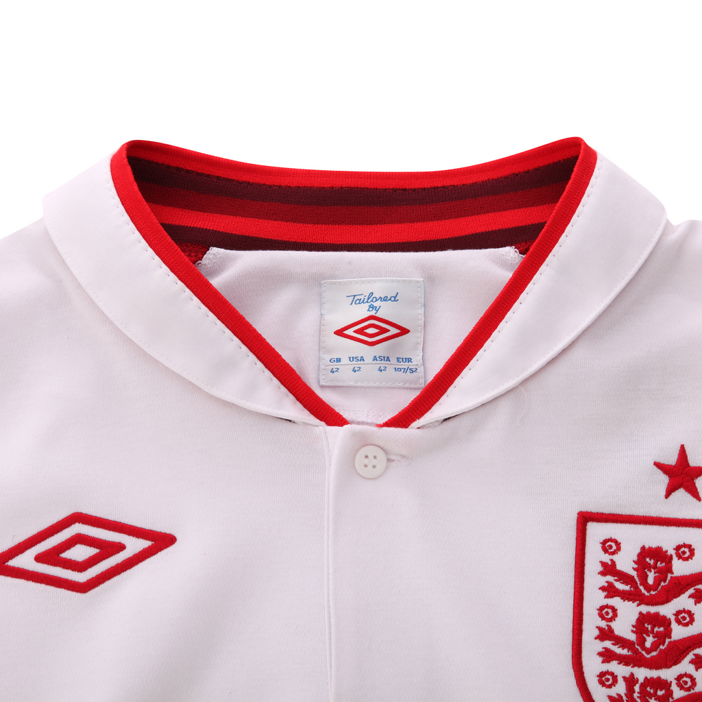 New umbro england home kits for euro 2012 unveiled red for New england kit homes