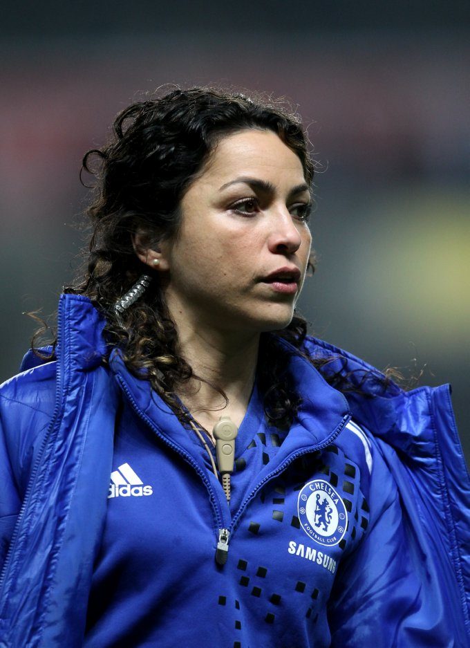 To lovely chelsea physio eva carneiro video who ate all the pies