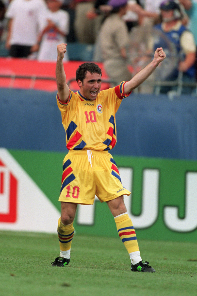 Romanian soccer legend Gheorghe Hagi turns 50 - Nine O' Clock
