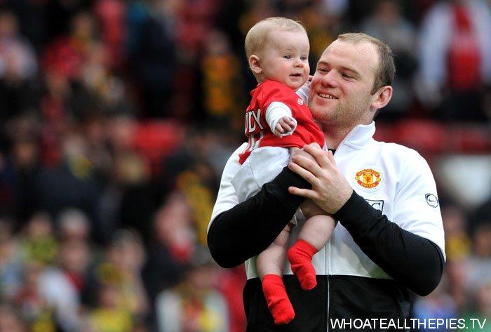 Wayne Rooney As A Kid pa photos t wayne rooney kai rooney old trafford united h jpg