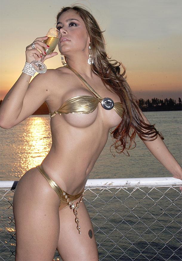 Sexy Soccer Fan Larissa Riquelme
