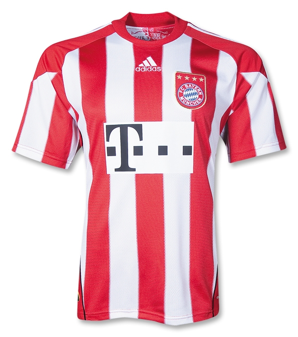 Top 10 European Home Kits For 2010 11 Who Ate All The Pies