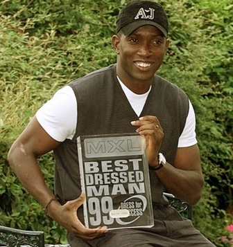 Football Flashback: Dwight Yorke wins Britain&#8217;s &#8216;Best Dressed Man&#8217; award
