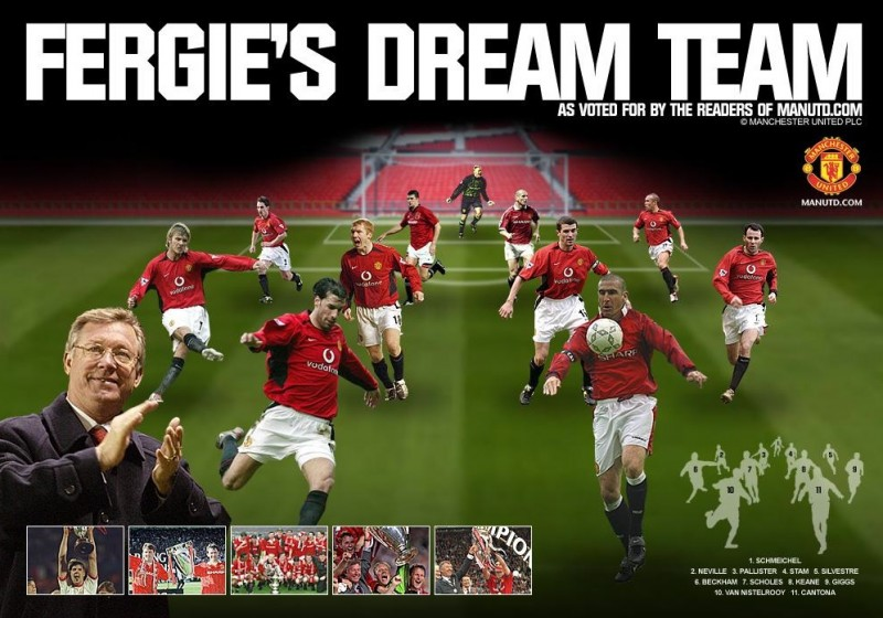 Fergie dream team Man Utd