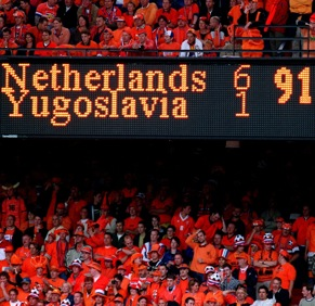 Photo Gallery: Memorable football scoreboards
