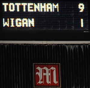 Photos: Tottenham Hotspur 9-1 Wigan Athletic – Or, why wasn't Jermain Defoe in my fantasy team?