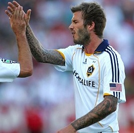 David Beckham Ahead Of Schedule For LA Galaxy Comeback
