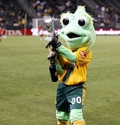 The Football Mascot Index No.3: Cozmo, LA Galaxy