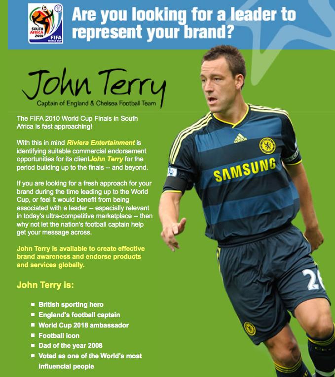 john terry brand