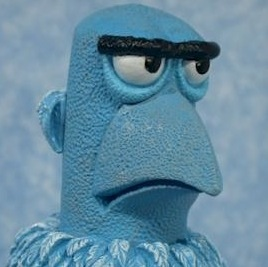 Shit Lookalikes Classic: Mick McCarthy and Sam the Eagle from Sesame Street