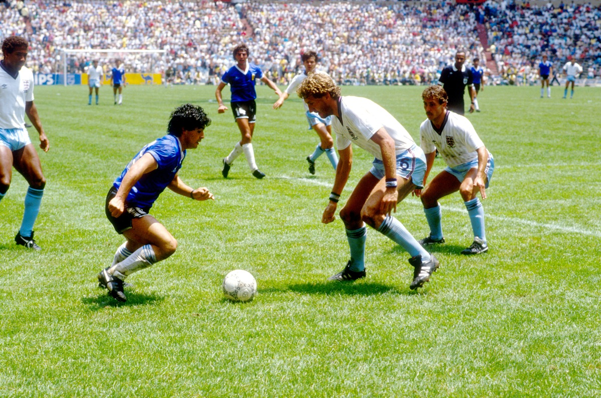 World Cup Flashback: Diego Maradona Torments England, 1986 ...