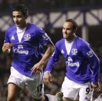 Photos: Everton 2-0 Sunderland – Landon Donovan Scores First Premier League Goal, Made To Feel 'Normal' By Phil Neville