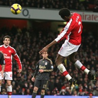 Photos: Arsenal 1-0 Liverpool – Diaby Keeps Gunners In Title Race