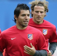 Photos: Atletico Madrid Train For Europa League Final v Fulham