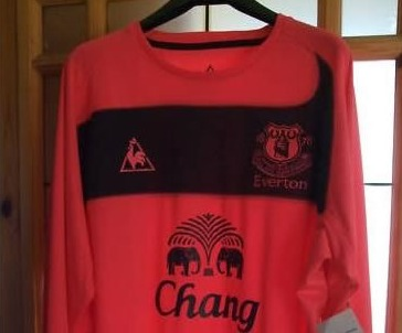 half off 6f359 47618 New Everton Pink Kit, Wayne Bridge Living Large In LA, Man ...