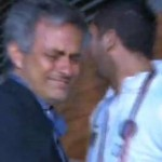 Football GIF: Jose Mourinho & Marco Materazzi Share Big Man Love