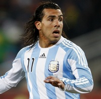 World Cup Photos: Argentina 3-1 Mexico &#8211; Tevez Stars, Still No Messi Goal