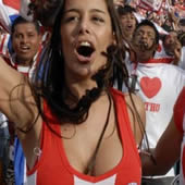 Model Larissa Riquelme: I&#8217;ll Strip Naked If Paraguay Win World Cup