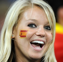 The Bumper 2010 World Cup Female Fan Gallery