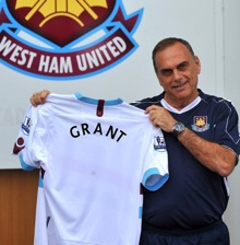 Photos: Avram Grant Unveiled As New West Ham Manager