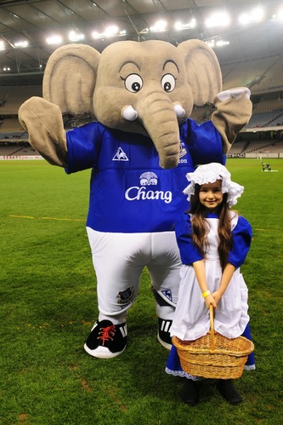Most In Mascot Awesome The Changy  The Football Is Elephant
