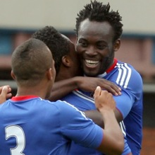Photos: Crystal Palace 0-1 Chelsea – Michael Essien Scores On Comeback