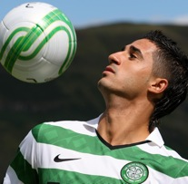 Photos: Celtic Show Off New Signing Beram Kayal